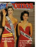 Michelle McLean, Paola Turbay on the cover of Cromos (Colombia) - May 1992