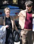 Amber Heard and Andy Muschietti