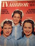 Peggy Lennon on the cover of TV Radio Mirror (United States) - May 1961