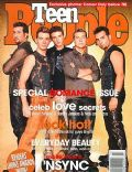 Chris Kirkpatrick, JC Chasez, Joey Fatone, Justin Timberlake, Lance Bass on the cover of Teen People (United States) - February 2001