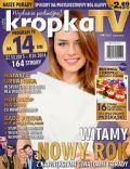 Natasza Urbanska on the cover of Kropka TV (Poland) - December 2013