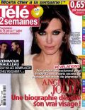 Angelina Jolie on the cover of Tele 2 Semaines (France) - June 2011