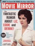 Elizabeth Taylor on the cover of Movie Mirror (United States) - November 1959