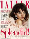 Lily Aldridge on the cover of Tatler (United Kingdom) - November 2013