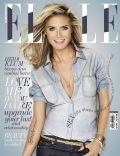 Heidi Klum on the cover of Elle (Indonesia) - February 2013