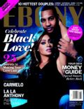 La La Anthony on the cover of Ebony (United States) - February 2014