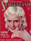 Jean Harlow on the cover of Screenland (United States) - March 1932
