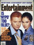 Amy Brenneman, David Caruso on the cover of Entertainment Weekly (United States) - October 1993