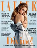 Charlie Newman on the cover of Tatler (United Kingdom) - July 2014