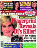 Angela Lansbury, Chelsea Clinton, Hillary Rodham Clinton, Peter Jennings, Princess Diana on the cover of National Examiner (United States) - April 2005