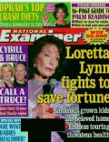 Bruce Willis, Loretta Lynn, Oprah Winfrey on the cover of National Examiner (United States) - October 2004