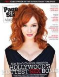 Christina Hendricks on the cover of Page Six (United States) - October 2008
