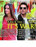 Katie Holmes, Tom Cruise on the cover of Grazia (United Kingdom) - July 2012