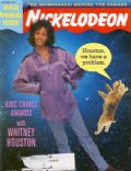Whitney Houston on the cover of Nickelodeon (United States) - May 1996