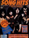 Paul Stanley on the cover of Song Hits (United States) - June 1983