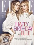 Daniela Pestova, Lenka on the cover of Elle (Czech Republic) - April 2012