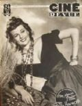 Rita Hayworth on the cover of Cine Revue (Belgium) - October 1948