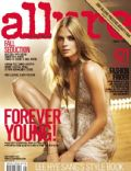 Julia Stegner on the cover of Allure (South Korea) - September 2007