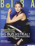 Estella Warren on the cover of Biba (France) - January 2000