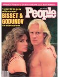 Alexander Godunov, Jacqueline Bisset on the cover of People (United States) - April 1985