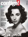Elizabeth Taylor on the cover of Contigo (Brazil) - March 2011