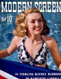 Modern Screen Magazine [United States] (August 1942)