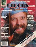 Ian Anderson on the cover of Circus (United States) - November 1978