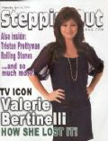 Valerie Bertinelli on the cover of Steppin Out (United States) - April 2008