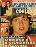 Adriana Esteves, Daniella Perez, Michael Jackson, Renascer, Xuxa Meneghel on the cover of Contigo (Brazil) - July 1993