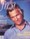 Jeff Bridges on the cover of American Film (United States) - October 1990