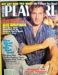 Nick Kokotakis on the cover of Playgirl (United States) - April 1996