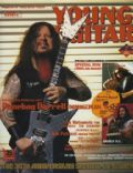 Dimebag Darrell on the cover of Young Guitar (Japan) - July 2004