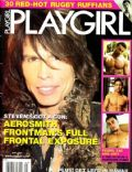 Steven Tyler on the cover of Playgirl (United States) - May 2007