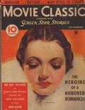 Sylvia Sidney on the cover of Movie Classic (United States) - November 1934