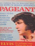 Elvis Presley on the cover of Pageant (United States) - August 1973