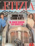 Claudio Aliotti, Simona Pelei on the cover of Letizia (Italy) - August 1978