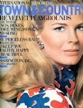 Candice Bergen on the cover of Town and Country (United States) - July 1969