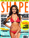 Rachael Finch on the cover of Shape (Australia) - October 2010