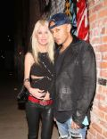 Tara Reid and Ted Dhanik