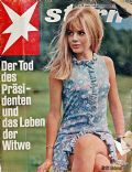 Britt Ekland on the cover of Stern (Germany) - March 1967