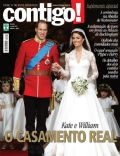 Kate Middleton, Prince William Windsor on the cover of Contigo (Brazil) - May 2011