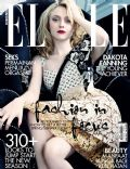Dakota Fanning on the cover of Elle (Indonesia) - March 2012