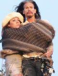 Steven Tyler and Aimee Preston