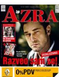 Burak Hakki on the cover of Azra (Bosnia and Herzegovina) - May 2012