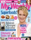 Meryl Streep on the cover of My Weekly (United Kingdom) - February 2012
