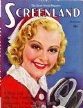 Sonja Henie on the cover of Screenland (United States) - November 1937