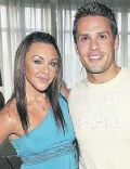 Hugh Hanley and Michelle Heaton