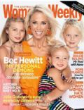 Bec Hewitt on the cover of Womens Weekly (Australia) - June 2013