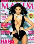 Hana Nitsche on the cover of Maxim (Germany) - August 2010