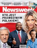 Anja Rubik, Jerzy Buzek on the cover of Newsweek (Poland) - December 2011